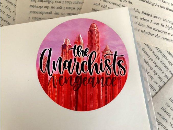 Nálepka: Anarchist