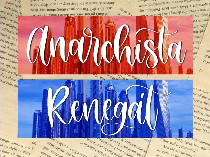 Záložka: Anarchista/Renegát SET + 2 nálepky (Anarchista, Renegát)