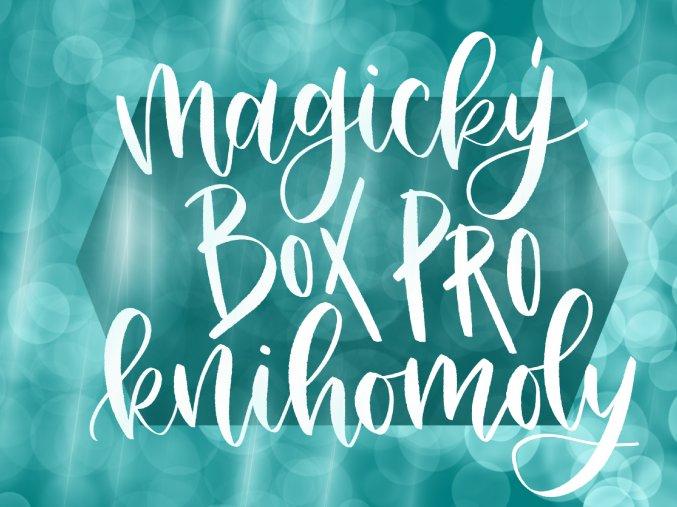Magický box pro knihomoly  Kouzelná zásilka pro všechny, kterým není Harry Potter cizí