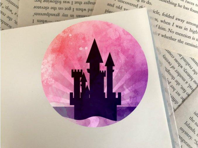 Nálepka: magical castle
