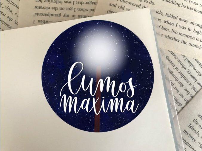 Nálepka: Lumos Maxima