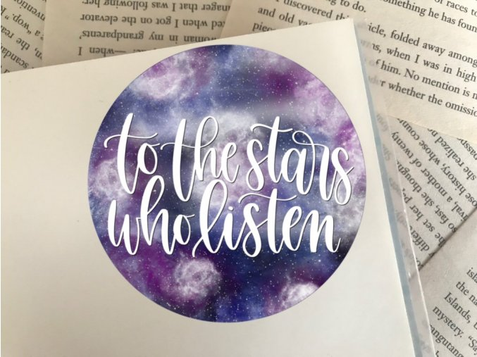 Nálepka: To The Stars Who Listen