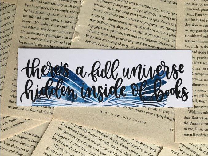 Záložka: Full universe