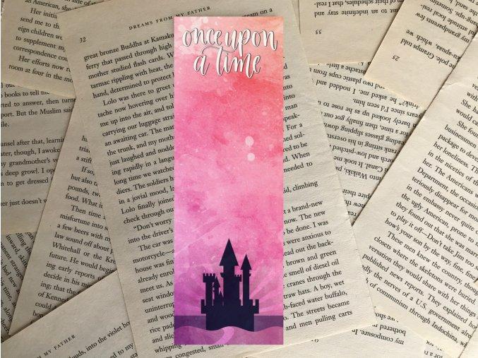 Once upon a time + Magical Castle (nálepka)
