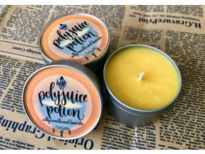 Polyjuice Potion (Mnoholičný lektvar)  Svíčka z magického boxu inspirovaného světem Harryho Pottera