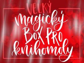 """Velký magický box pro knihomoly """"The Grishaverse""""  Tento box není velký pro nic za nic... je plný k prasknutí!"""