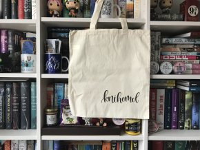 Plátěná taška - knihomol