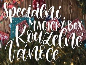 Speciální magický box: Kouzelné Vánoce  Tenhle box jsme vyčarovali přímo v Bradavicích