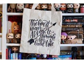 Plátěná taška: Arrow  Citát ze světa Grishaverse