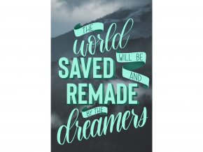 Art print: The world will be saved