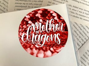 Nálepka: mother of dragons