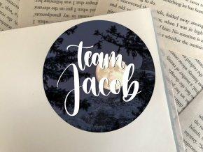 Nálepka: team Jacob