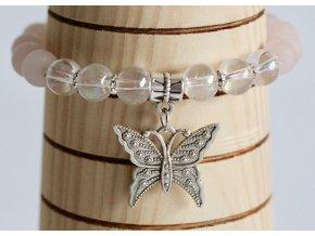 Náramek: Motýlí efekt  I drobné třepetání křídel může mít nakonec velkou sílu