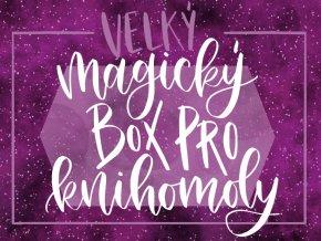 """VELKÝ MAGICKÝ BOX PRO KNIHOMOLY: """"PŮLMĚSÍČNÍ MĚSTO"""" Sarah J. Maas  Obsahuje šest nových svíček, art printy, záložky a další fan věci."""