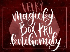 """VELKÝ MAGICKÝ BOX PRO KNIHOMOLY: """"MISTBORN""""  Obsahuje šest nových svíček, art printy, záložky a další fan věci."""