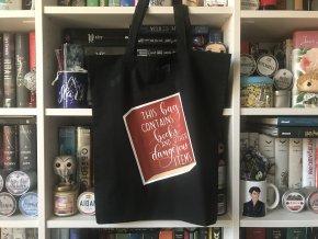 Plátěná taška - černá