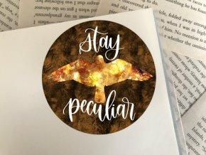 Nálepka: Stay Peculiar
