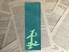 Záložka: Parabatai rune + nálepka Parabatai