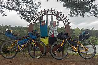 Bikepacking nomads
