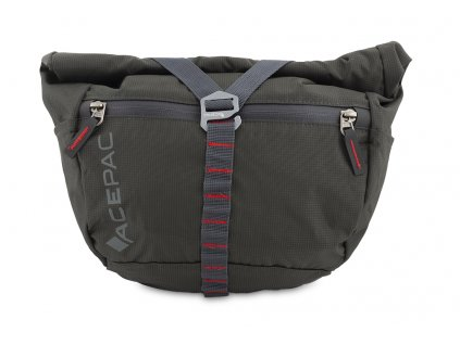 Bar bag grey front