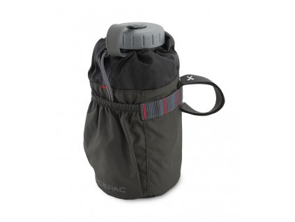 Fat bottle bag gray equipped