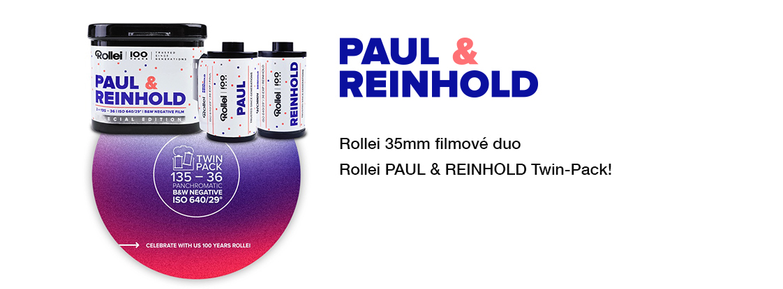 Paul and Reinhold 100 let Rollei