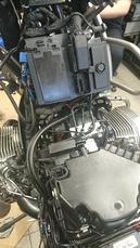 4. fotky PŘED a PO: ACF-50 a elektrický systém