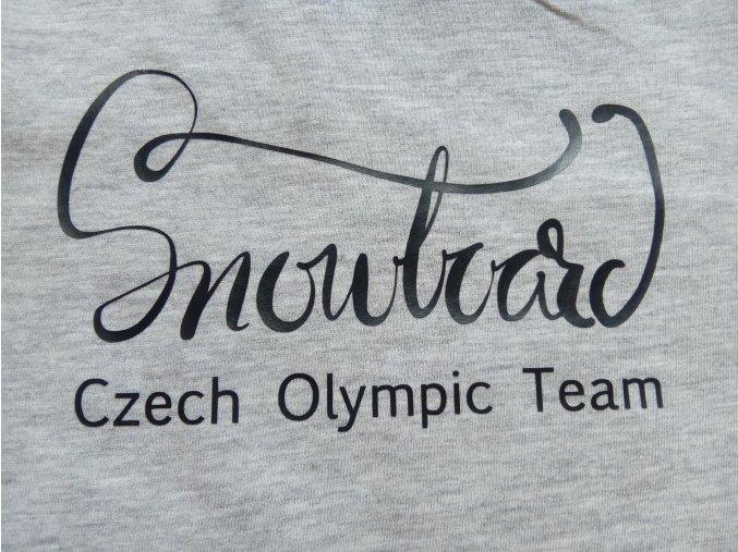"""Nažehlovačka """"Czech Olympic Team"""""""