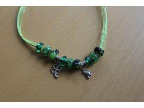 Žabičkový náhrdelník pro štěstí