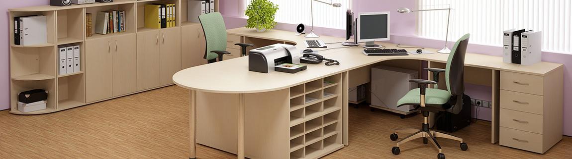 Moderní kancelář si žádá moderní nábytek