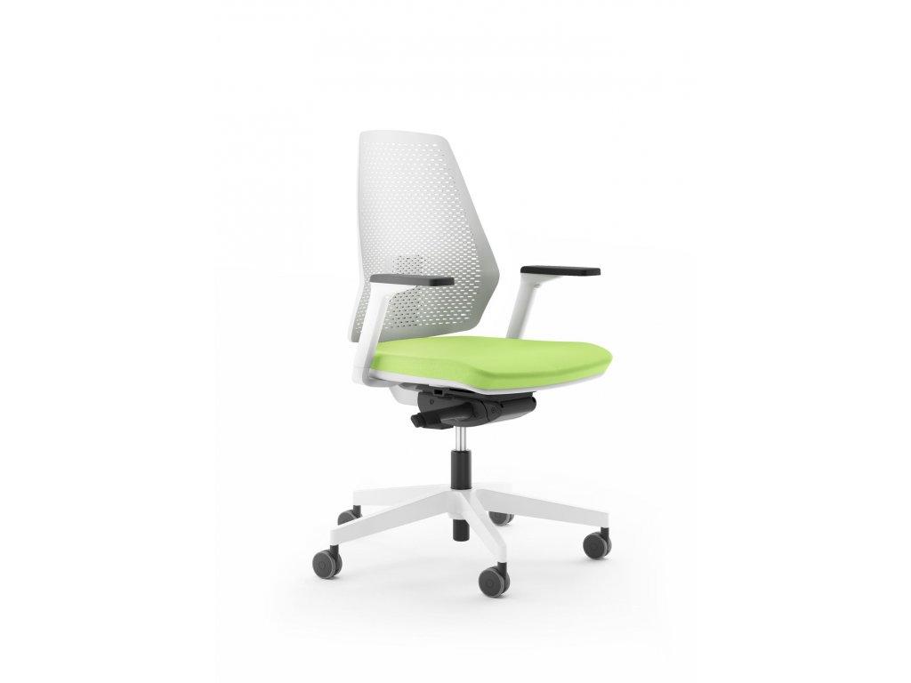 Kancelářská židle ANTARES 1890 SYN Infinity PERF WHITE nosnost 130 kg