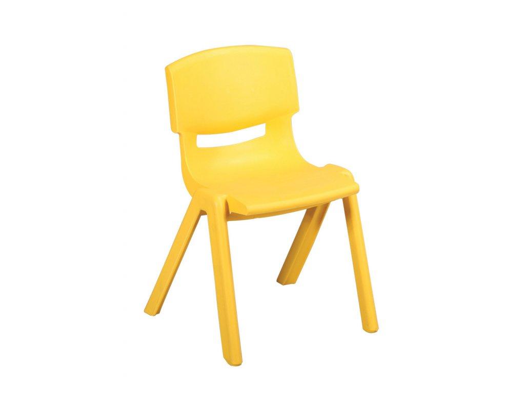 Plastová židle pro MŠ výška 30 cm