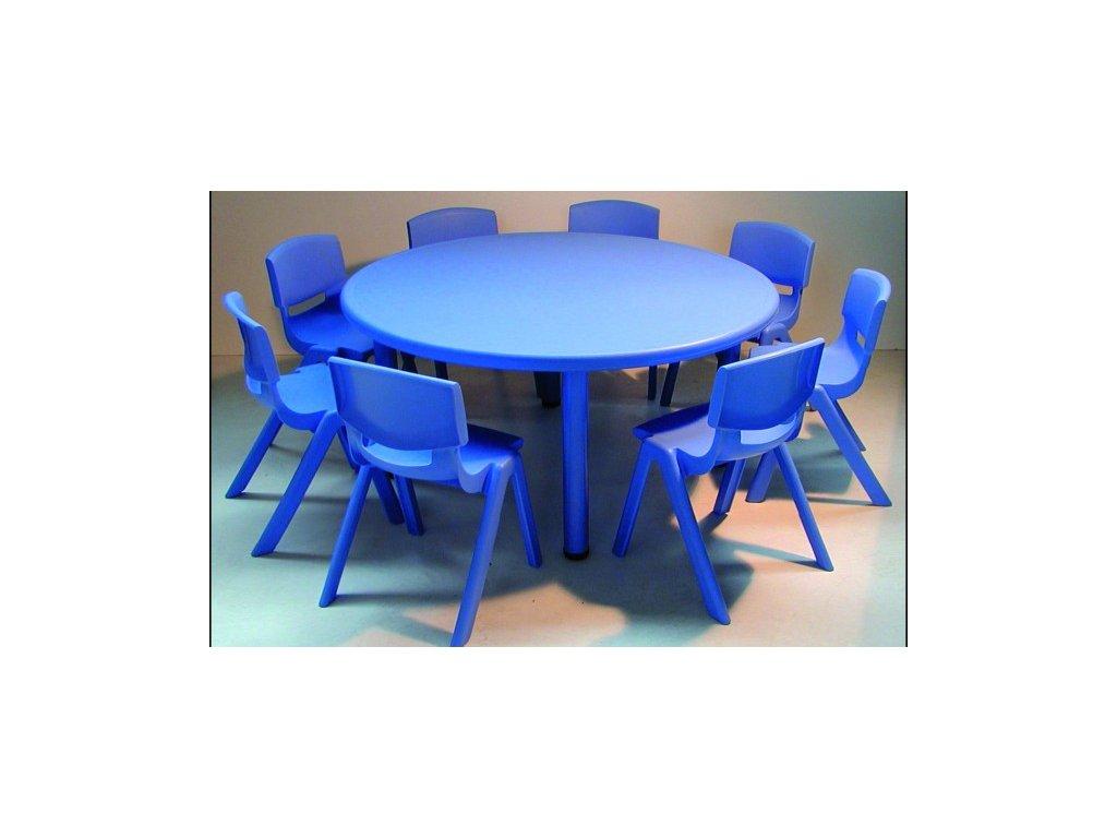 Školní stůl kulatý pro MŠ