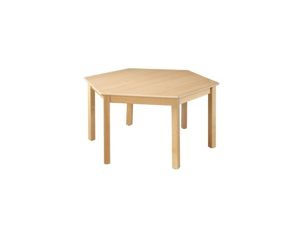 Školní stůl šestistranný MILI 1