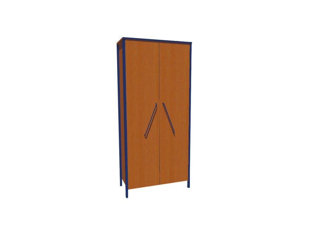 Školní skříň dvoudveřová ALEŠ