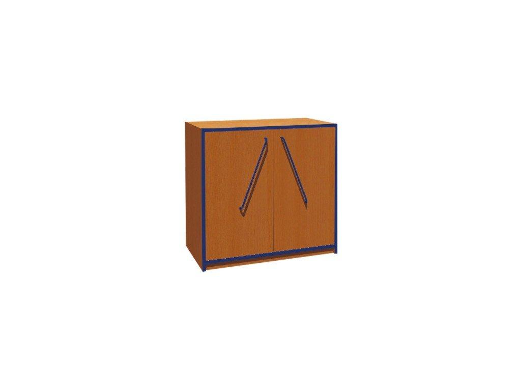 Školní skříň nízká dvoudveřová KRYŠTOF