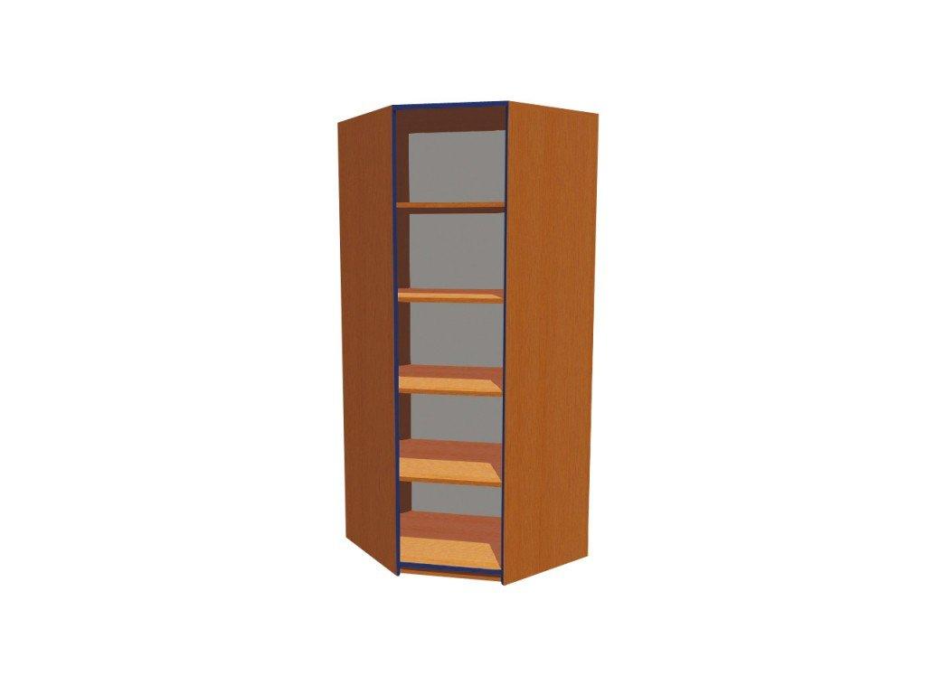 Školní skříň rohová policová KRYŠTOF