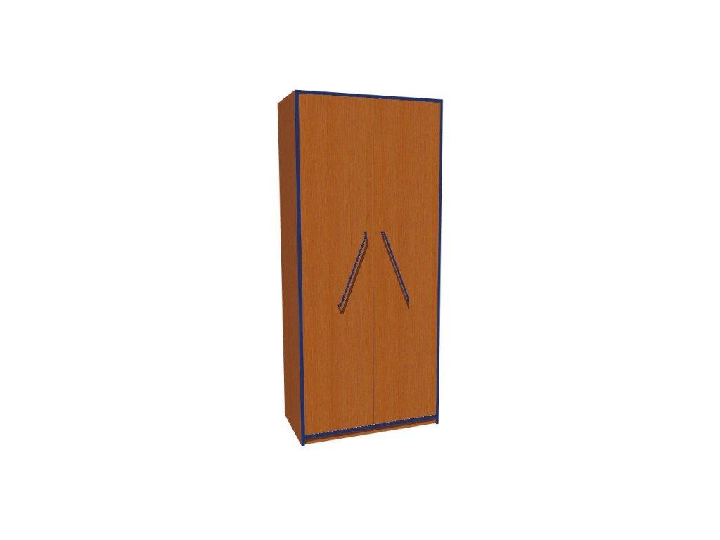 Školní skříň policová dvoudveřová KRYŠTOF