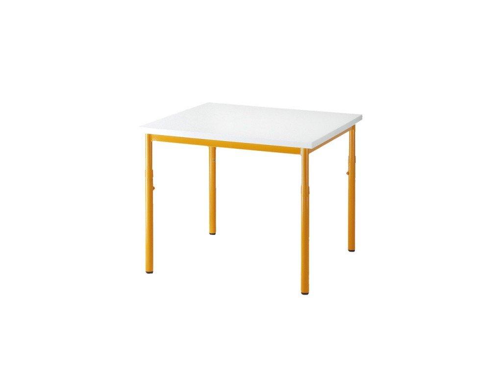 Školní stůl 800 x 800, stavitelný