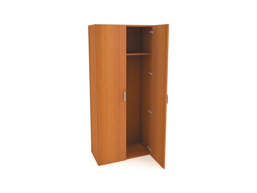 MEDIC 3 dvoudvéřová zdravotnická šatní skříň, 1 police, 2 dveře
