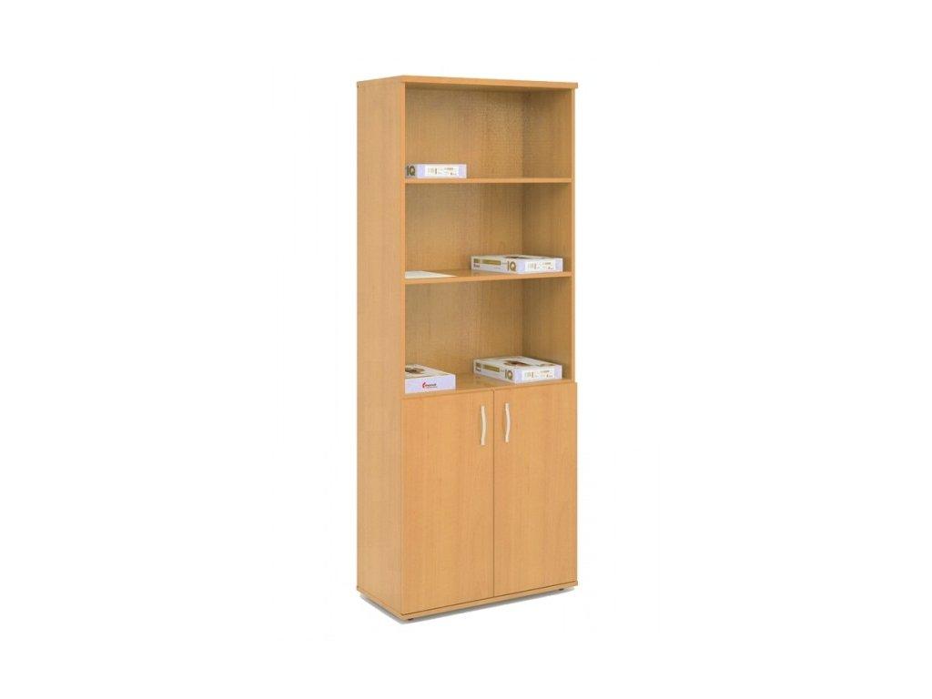 Kancelářská skříň kombinovaná 2 KLASIK