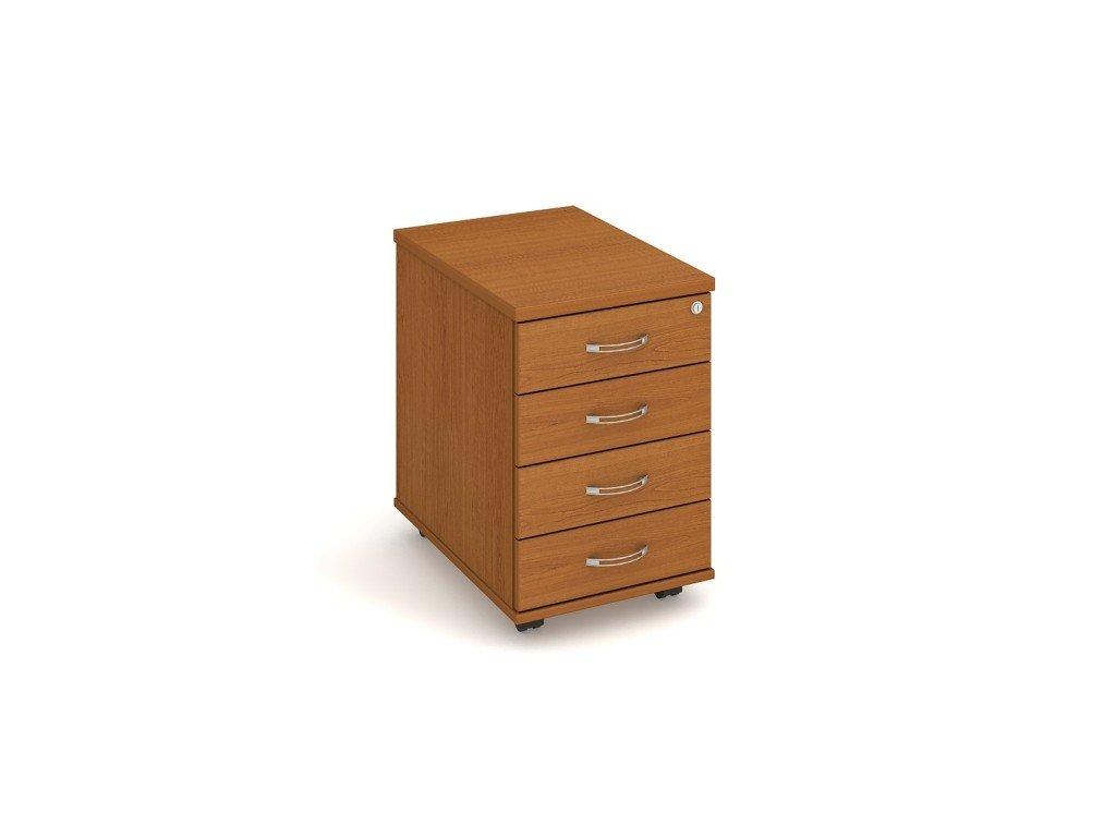 MEDIC I zásuvkový kontejner do ordinace na kolečkách 4 zásuvky