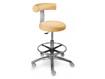 Zdravotnická otočná židle s kruhem NAĎA