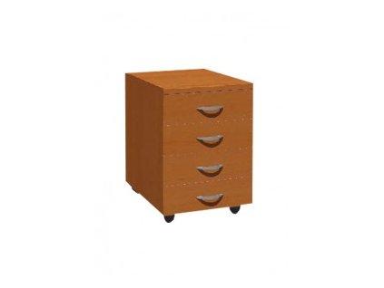 MEDIC 4 zásuvkový kontejner do ordinace na kolečkách 4 zásuvky