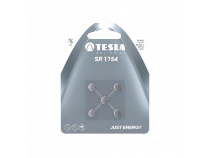 Knoflíková baterie Tesla SR1154, 1,55 V, blistr 5 ks