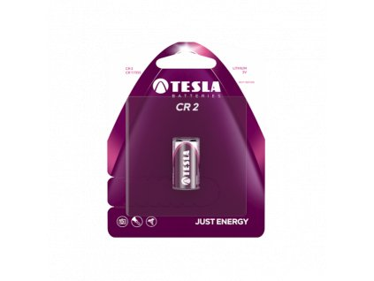Lithiová baterie Tesla CR2, 3 V, blistr 1 ks
