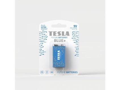 Zinková baterie Tesla BLUE+ 9 V, blistr 1 ks