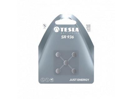 Knoflíková baterie Tesla SR936, 1,55 V, blistr 5 ks