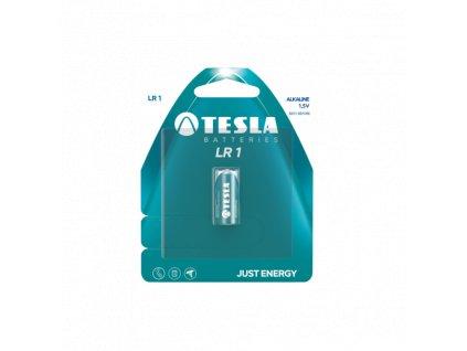 Alkalická baterie Tesla LR1, 1,5 V, blistr 1 ks