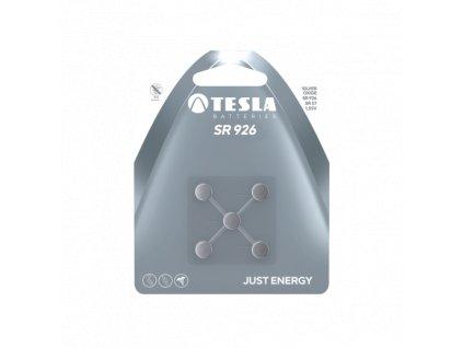 Knoflíková baterie Tesla SR926, 1,55 V, blistr 5 ks